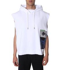 dsquared2 sleeveless hoodie