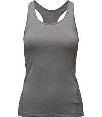 essential racerback t-shirts & tops sleeveless grå casall