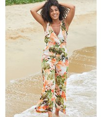 bali palm wide leg jumpsuit