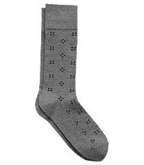 travel tech dotted pattern socks, 1 pair