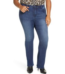 plus size women's wit & wisdom ab-solution itty bitty bootcut jeans, size - (plus size) (nordstrom exclusive)