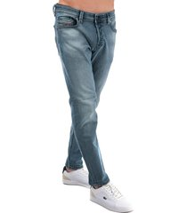 diesel mens larkee beex tapered fit jeans size 34s in blue