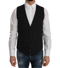 wol jurk stretch vest