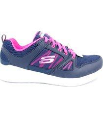 zapatillas para mujer skechers 12995/nvhp - azul