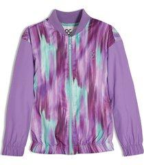 chaqueta violeta  offcorss