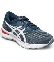gel-nimbus 22 shoes sport shoes running shoes blå asics