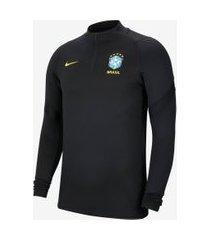 camiseta de treino nike brasil masculina