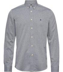 max button down shirt overhemd casual blauw morris