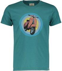 hensen t-shirt - slim fit - petrol