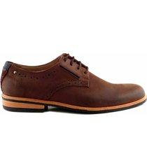zapato marrón briganti hombre henrik