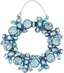 susan caplan vintage 1960s regency stone bracelet - blue