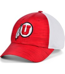 top of the world men's utah utes novh8 flex cap