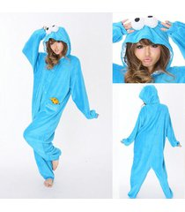 adult pajamas kigurumi cosplay costume animal onesies sleepwear cookie monster