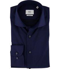 eterna overhemd donkerblauw modern fit