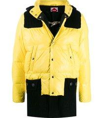bark b rules padded coat - yellow