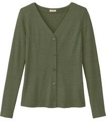 vest van bourrette zijde, smaragd 40