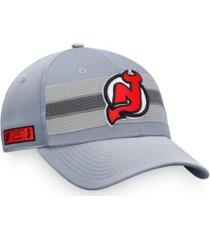 authentic nhl headwear new jersey devils second season adjustable cap