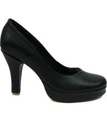 zapato negro picas shoes stiletto