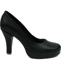 zapato negro picas shoes stiletto