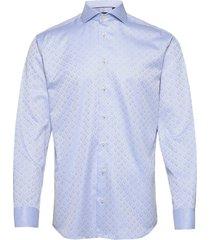 2ply pattern in light blue overhemd casual blauw bosweel shirts est. 1937