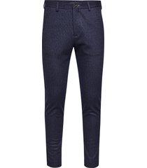 paton jersey pant kostuumbroek formele broek blauw matinique