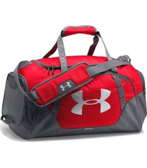 maletin under armour undeniable 3.0 small duffle-rojo/gris