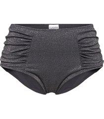glitter swim bikinitrosa svart ganni