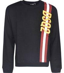 dsquared2 stripe logo sweater