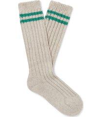 the elder statesman short socks
