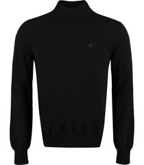 msgm wool and cachemire turtleneck pullover