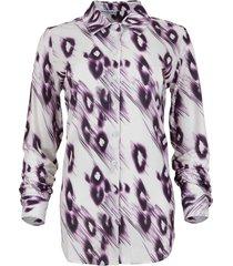 maicazz garbi-blouse fa20.20.008 purple flock