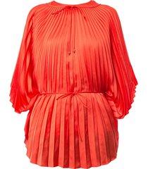 stella mccartney sleeveless shift top - orange