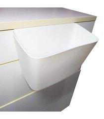 lixeira suspensa porta treco cesto multifuncional pia cozinha gaveta