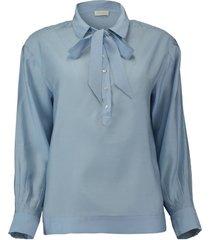 blouse electra blauw