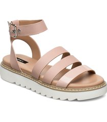 onlmalu pu chunky wrap sandal shoes summer shoes flat sandals rosa only