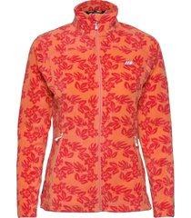 tinnhølen microfleece jacket outerwear sport jackets orange skogstad