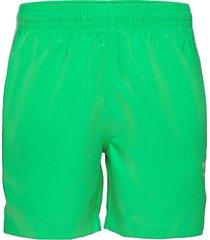 adicolor classics 3-stripes swim shorts badshorts grön adidas originals