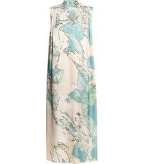 heather patterned sleeveless dress