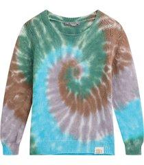 kids tie-dye knit sweater