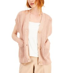 alfani cotton short dolman-sleeve cardigan, created for macy's