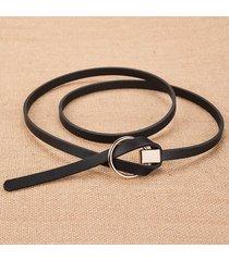 cinturón para mujer/estilo accesorio/ sra. cinturón-negro