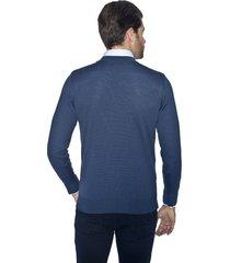 sweter drago półgolf niebieski