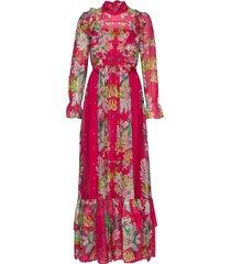ava dress maxiklänning festklänning multi/mönstrad by malina