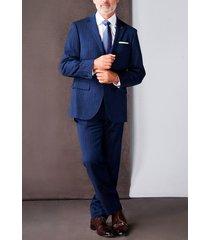 traje business azulino trial