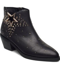 boot 5,5 cm shoes boots ankle boots ankle boot - heel svart sofie schnoor