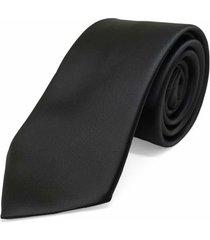 gravata concetto lisa seda preta - preto - masculino - dafiti