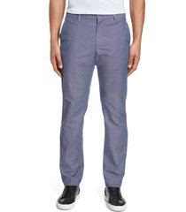 men's bonobos stretch weekday warrior slim fit dress pants, size 34 x 30 - blue