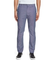 men's bonobos stretch weekday warrior slim fit dress pants, size 38 x 30 - blue