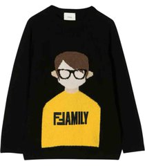 fendi wool sweatshirt