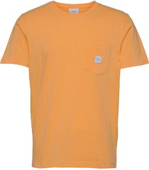 square pocket t-shirt t-shirts short-sleeved gul makia